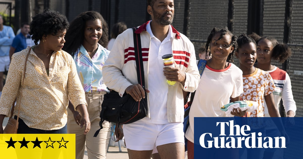King Richard review – Will Smith serves up tennis stardom for Venus and Serena