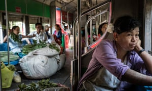 A journey on the Yangon Circle Line