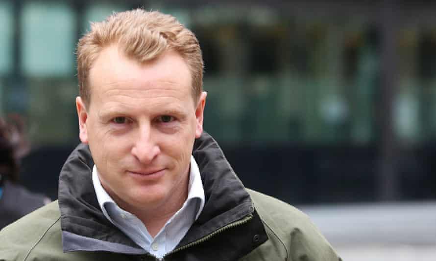 Martyn Dodgson, a former managing director at Deutsche Bank, at Southwark crown court in London.