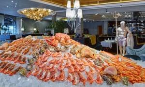 Russian seafood at Erwin
