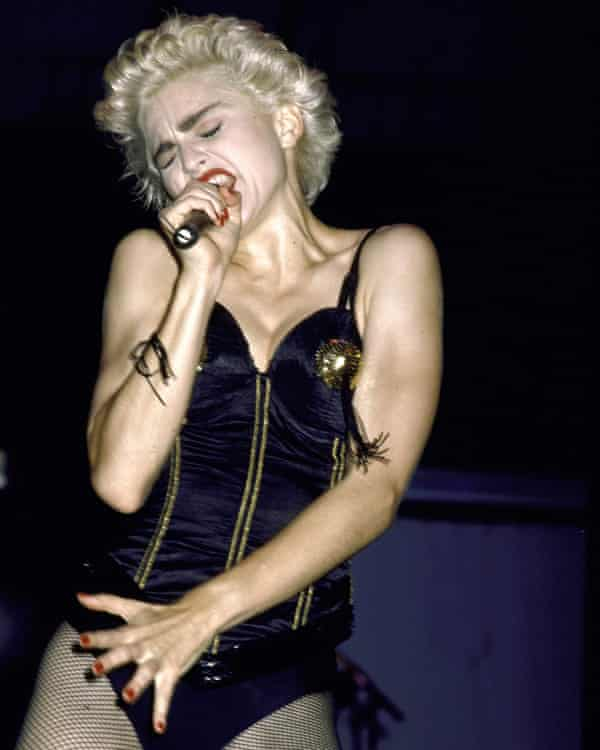 Madonna in 1987.