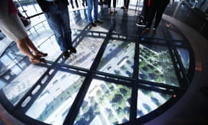 The Sky Portal which shows real-time footage of the streets below.
