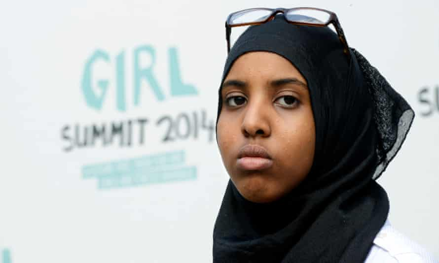 Fahma Mohamed at the 'Girl Summit 2014'.