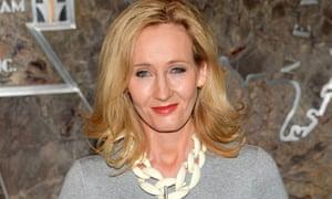 Back on top ... JK. Rowling.