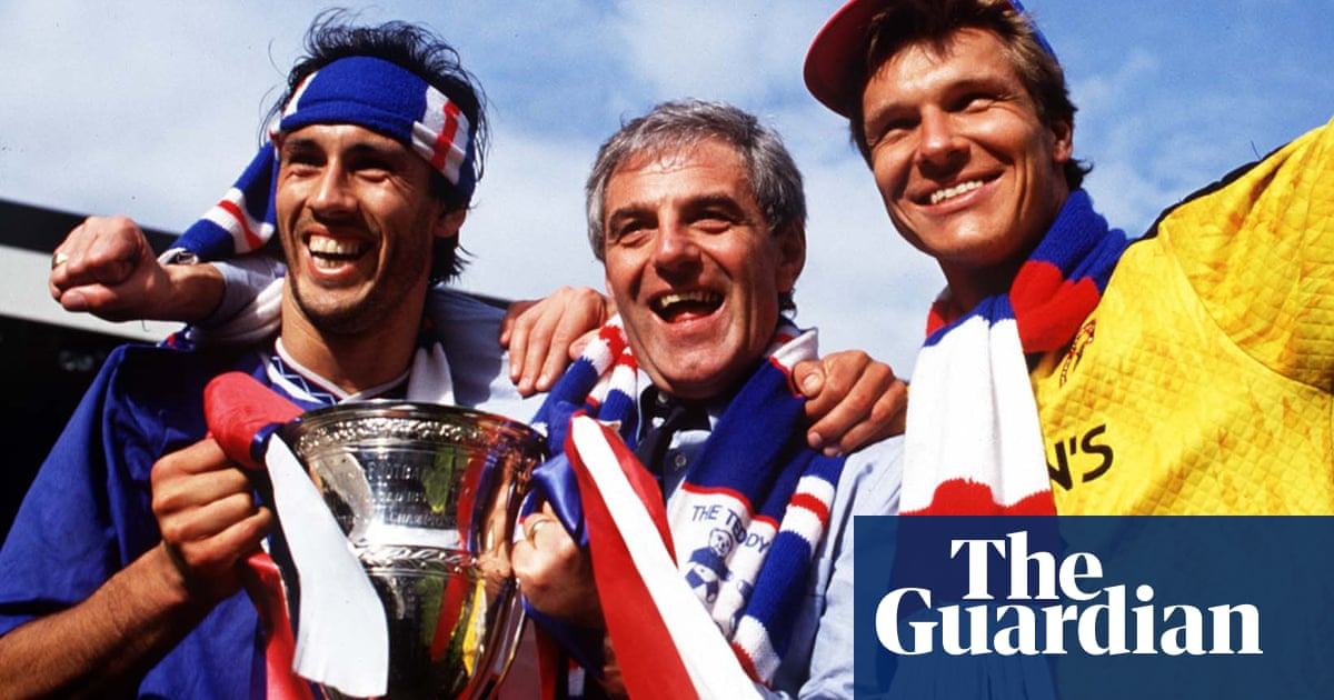 Walter Smith was a Scottish football great and too modest to shout about it