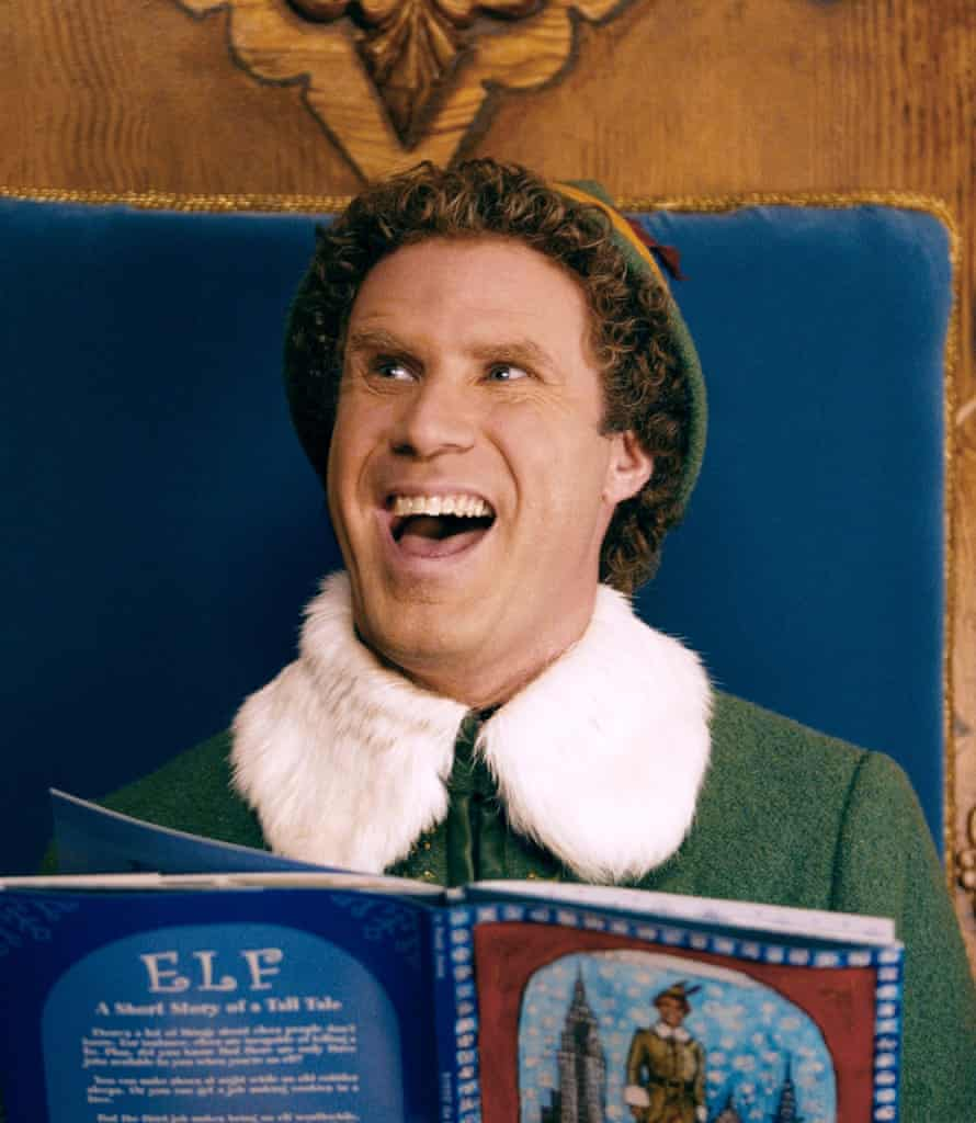 'This film is perfect; you are perfect': Will Ferrell in Elf.