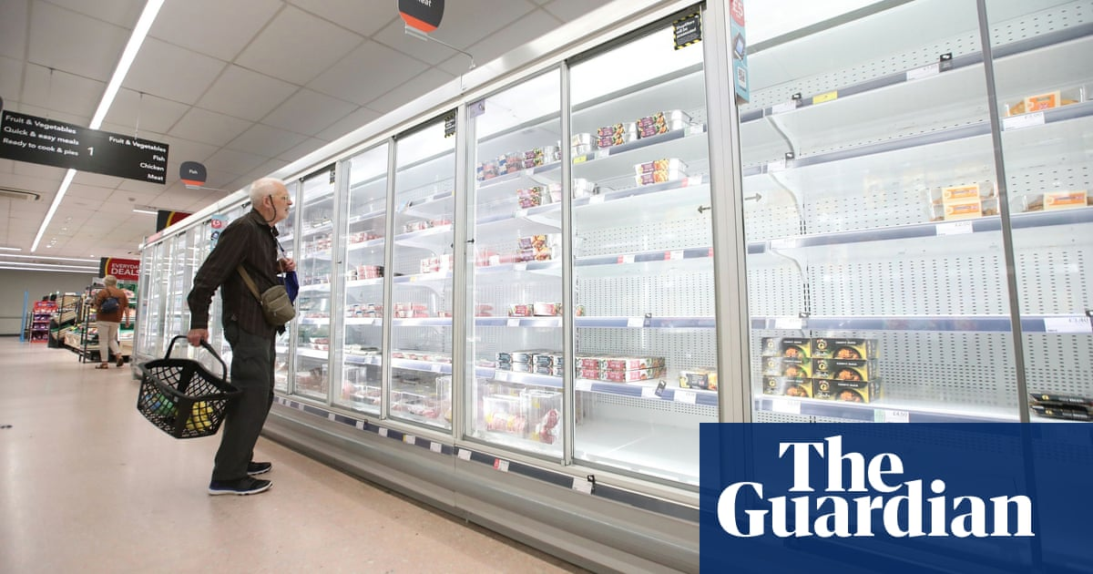 One in six adults in Great Britain not able to buy essential foods, ONS finds