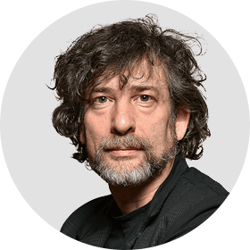 Neil Gaiman Circular panelist byline DO NOT USE FOR ANY OTHER PURPOSE!