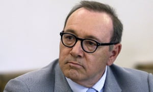 Actor Kevin Spacey at a hearing in Nantucket, Massachusetts on 3 June 2019.