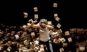 When squares become cubes … Nacho Flores' circus act, Tesseract.