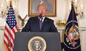 US President Donald Trump defies precedent.