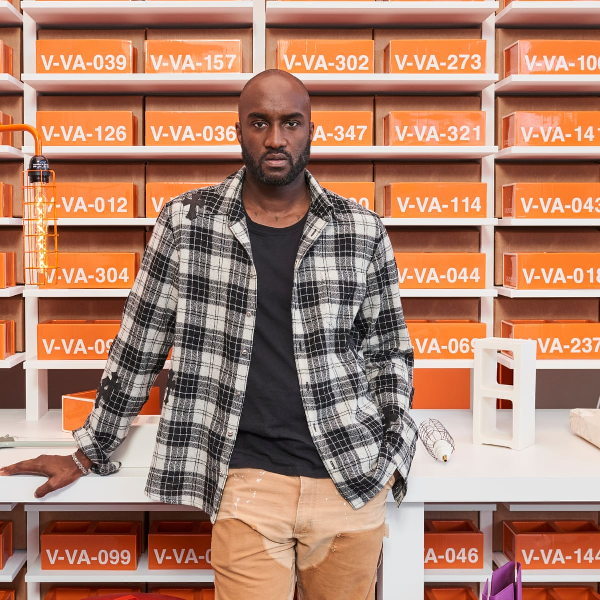 Virgil Abloh Criticised For Response To Looting During George Floyd Protests Fashion The Guardian