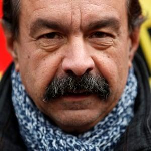Union leader Philippe Martinez.