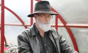 Programme Name: Terry Pratchett: Back in Black - TX: n/a - Episode: n/a (No. n/a) - Picture Shows: Terry Pratchett (PAUL KAYE) - (C) BBC - Photographer: Charlie Russell