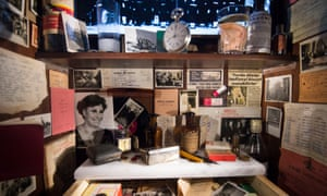 Orhan Pamuk's actual Museum of Innocence exhibition in Istanbul.
