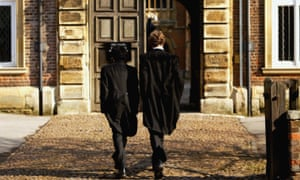 Pupils at Eton College hurry between lessons
