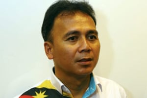 Bill Kayong, 43, who was shot dead in his pickup truck while at a traffic light in Miri, Malaysian Borneo's Sarawak state, on 21 June 2016