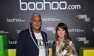 Carol Kane and Mahmud Kamani