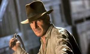 Binary thinking: Harrison Ford may need help cracking the whip as Indiana Jones in a planned fifth outing for director Steven Spielberg.