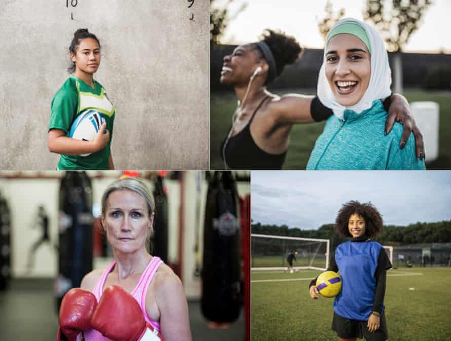 Research has revealed that 75% of women would like to do more exercise.