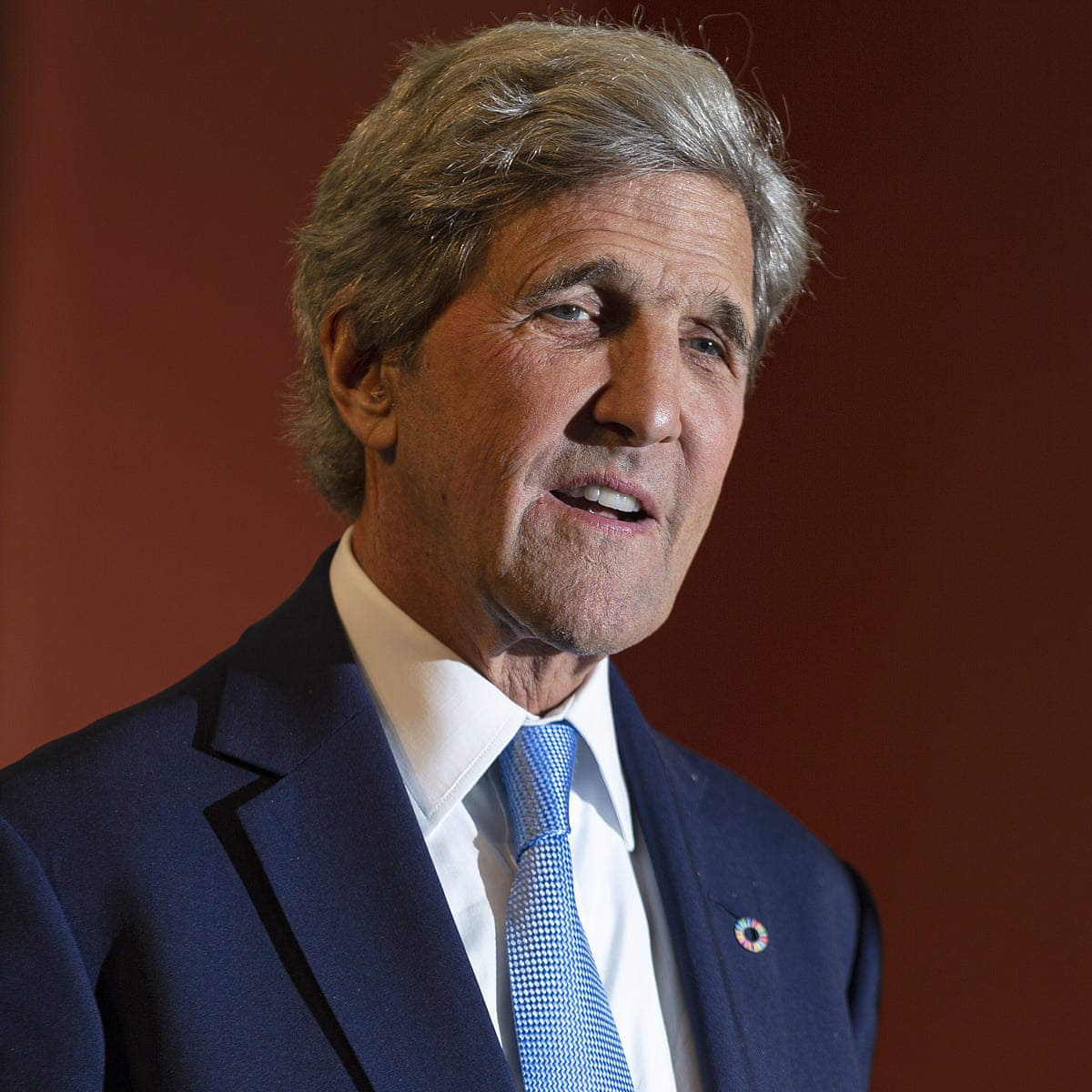 John Kerry launches coalition to fight climate crisis: 'We are way behind' | John Kerry | The Guardian