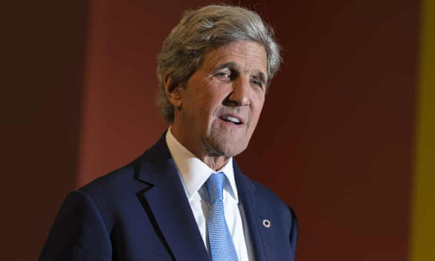 Former US secretary of state John Kerry: 'Things are getting worse, not better. And so we have our unlikely allies coming together here.'