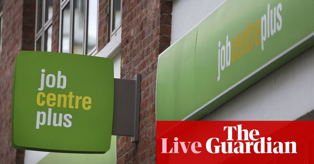 UK payrolls return to pre-pandemic levels, with vacancies at record – business live