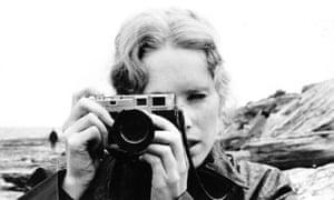 Liv Ullmann in Ingmar Bergman's Persona.