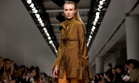Kelly Knox models for Teatum Jones