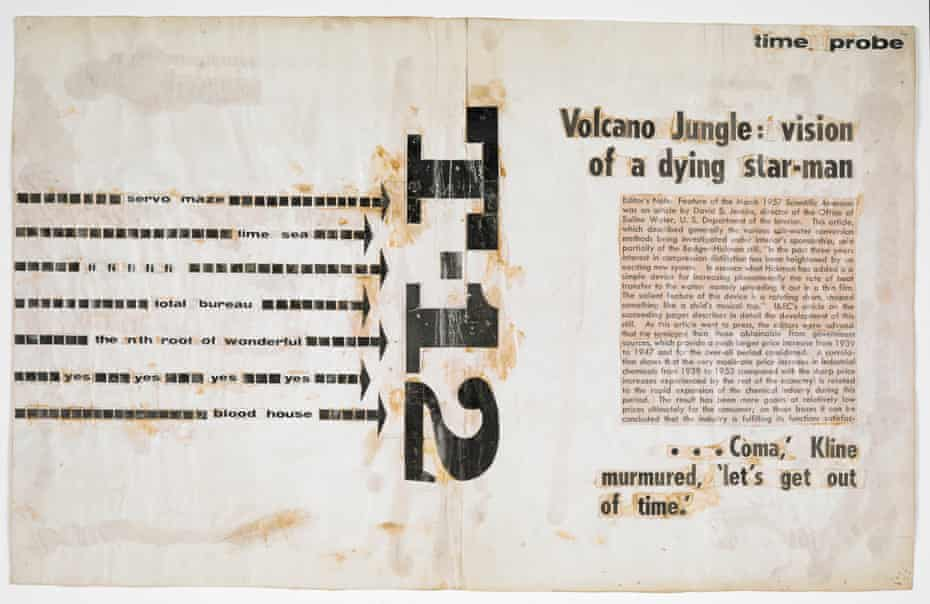 'T-12' billboard from the 1958 Project for a New Novel series by JG Ballard. See more at The British Library.