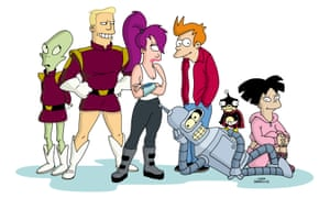 The Cast Of Futurama TM & Fox and its related entities.