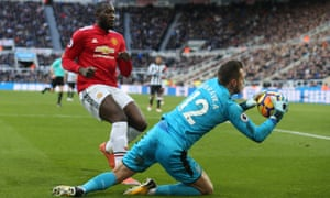 Martin Dubravka made a successful start to his Newcastle career, keeping Manchester United at bay.