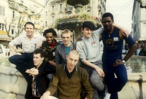 The Beat in Cannes, France in 1983