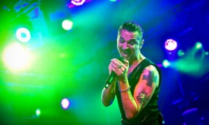 He's done all the bad stuff so you don't have to … Dave Gahan of Depeche Mode performs in Glasgow.