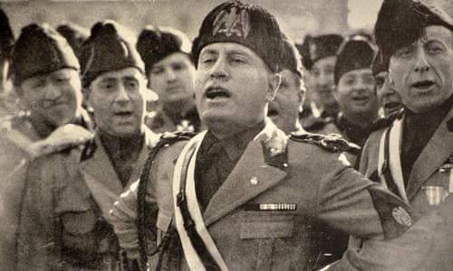 Mussolini's troops march into Abyssinia   World news   The Guardian