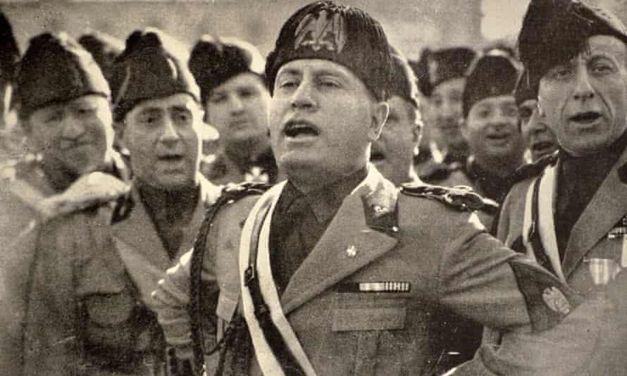 Benito Mussolini in 1927