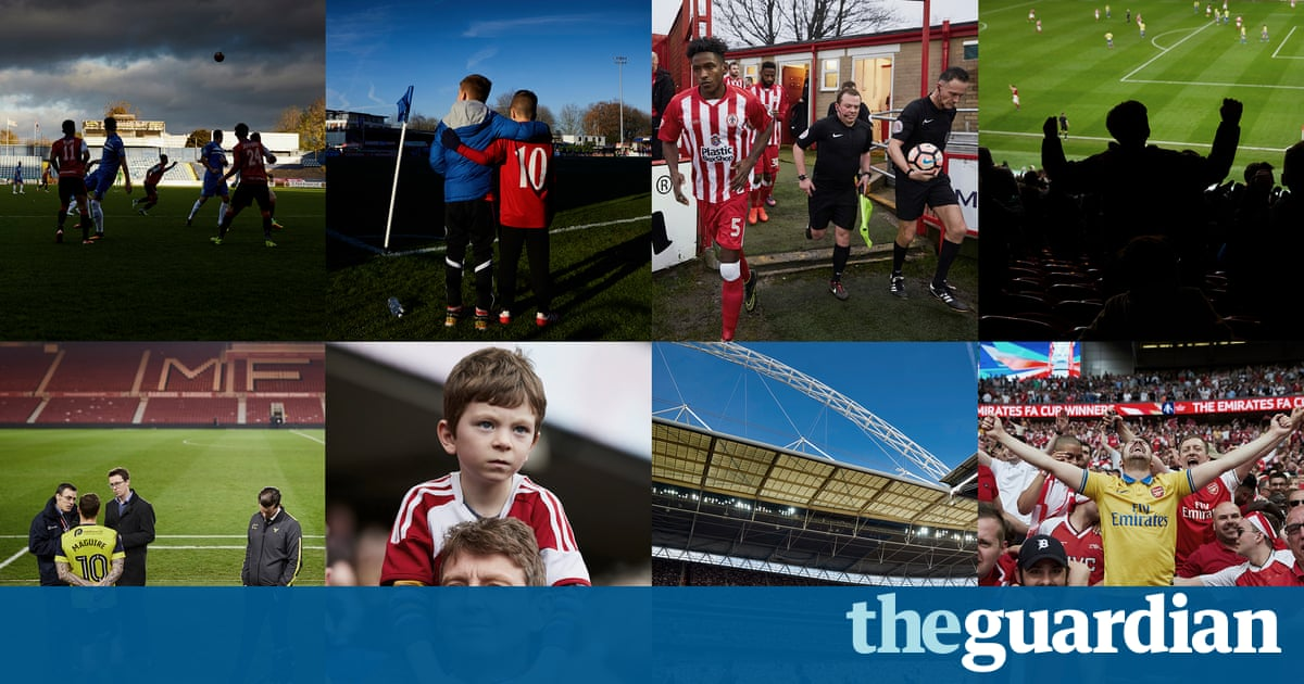 FA Cup photo essay: the road to Wembley