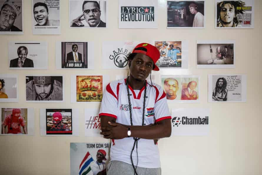 The Gambian rapper Ali Cham, known by his stage name Killa Ace