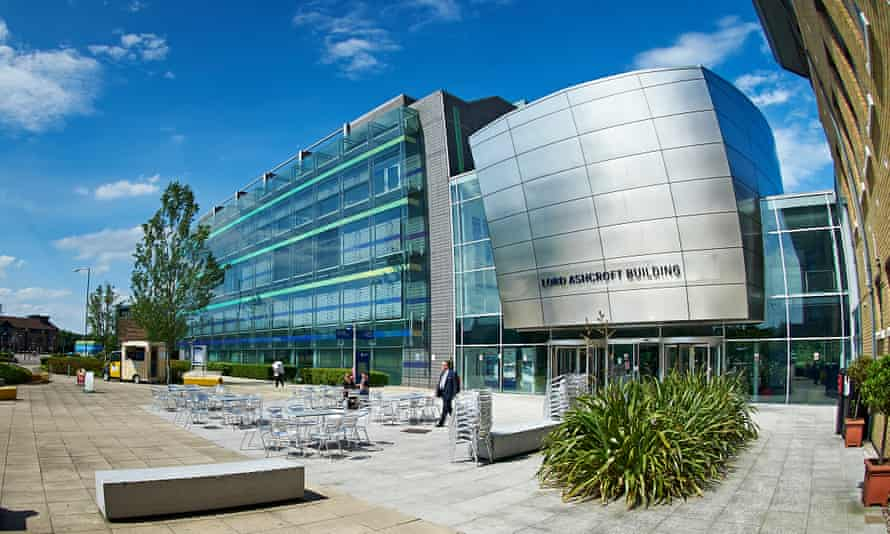 The Lord Ashcroft Building at Anglia Ruskin University