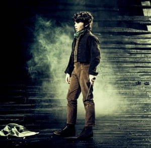 Sullivan Martin as young Pip in Great Expectations.
