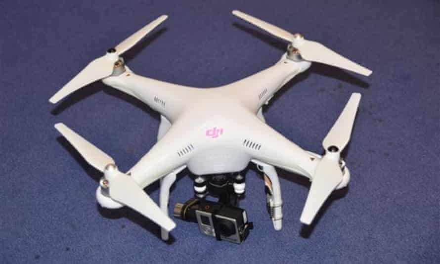 The device belonging to Nigel Wilson, who has been fined £1,800 for flying drones.