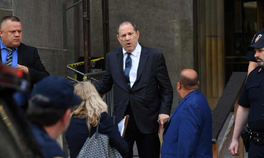 Harvey Weinstein at the New York Supreme Court, July 2019.