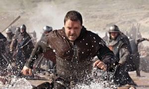 Russell Crowe in Ridley Scott's Robin Hood.