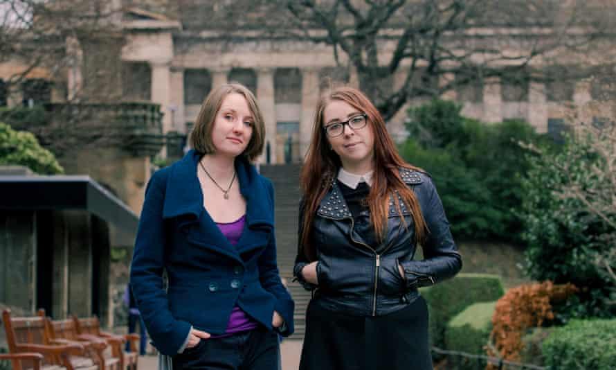 Heather McDaid and Laura Jones, founders of 404Ink.