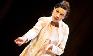 Camille O'Sullivan in the RSC's production of The Rape of Lucrece at the Edinburgh festival in 2012.