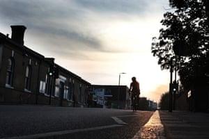 A lockdown cyclist