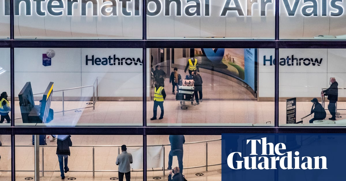 Ministers may relax England's rules for returnees from amber-list countries