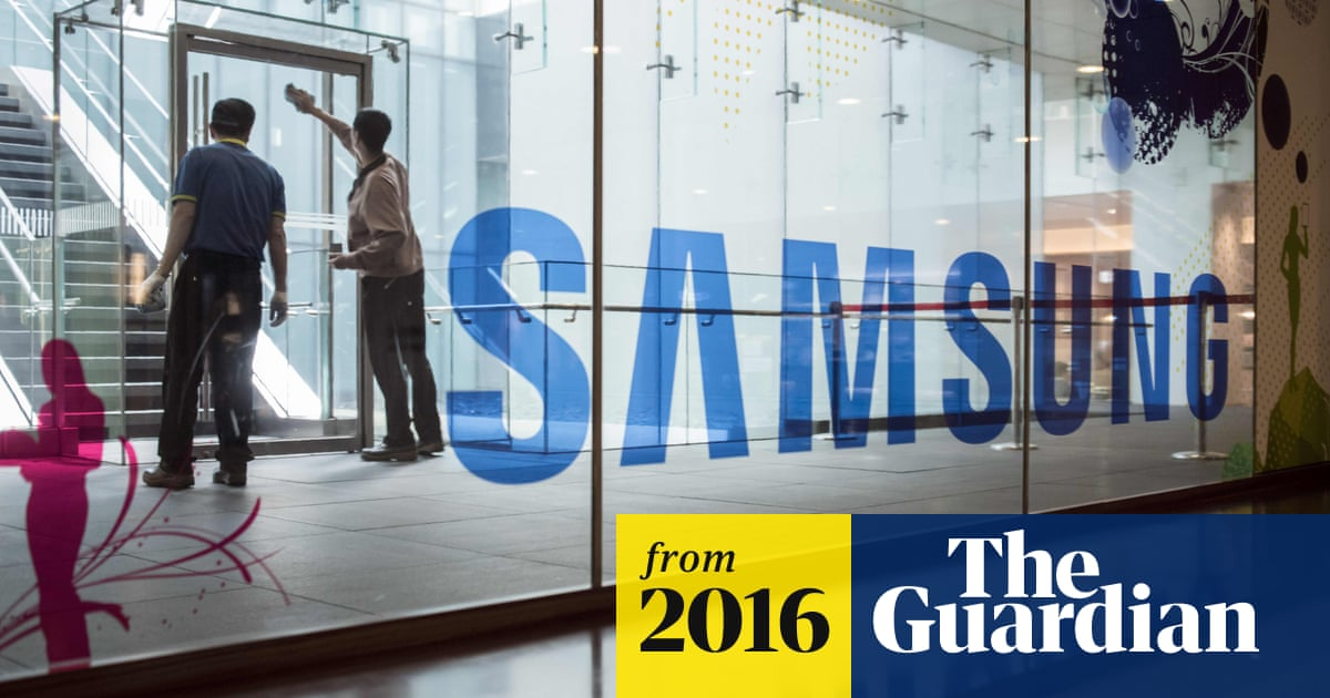 Samsung Galaxy Note 7 debacle blows £1 9bn hole in company profits