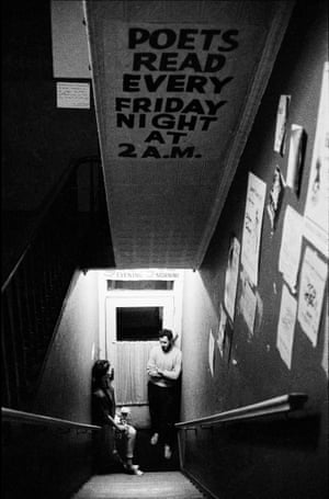 Seven Arts Cafe, New York City, 1959 Some of the best poets of the day performed at this Ninth Avenue venue, near Time Square – from Kerouac, Ginsberg and Corso to Ray Bremser and Diane di Prima