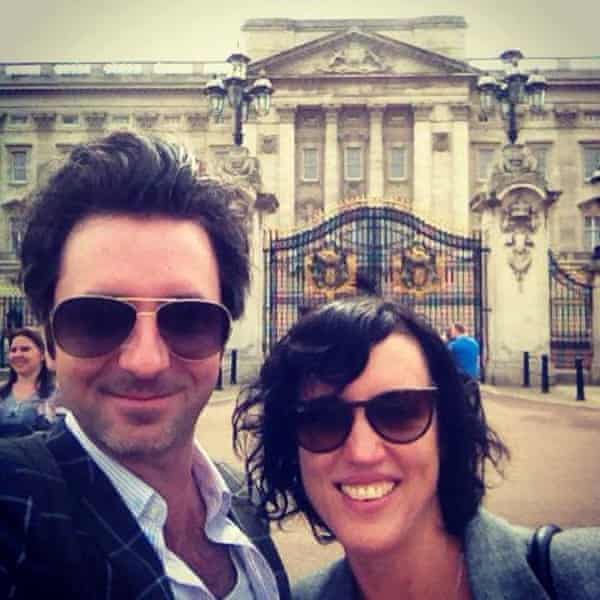 Mike and Ali Noga in London